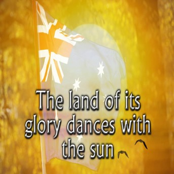The land of its glory dances with the sun