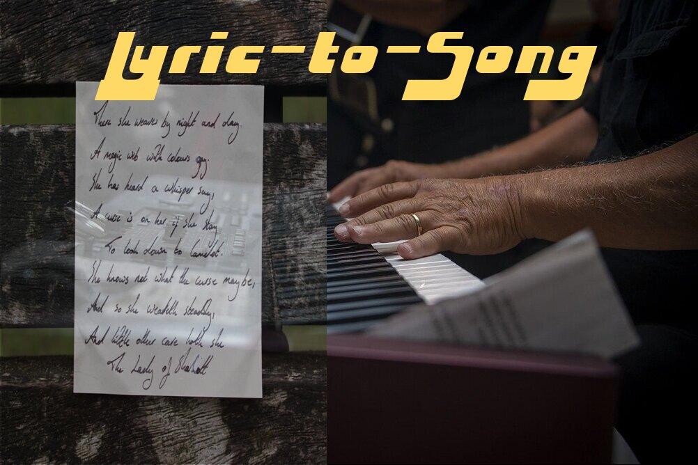 Lyric-to-Song
