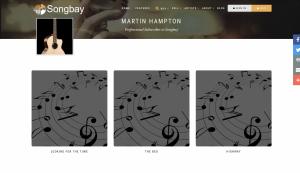 Martin Hampton at Songbay